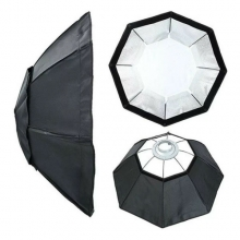 SOFTBOX GREIKA OCTA 95CM - COM ADAPTADOR PARA FLASH ATEK