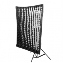 SOFT BOX COM ADAPTADOR UNIVERSAL 80x1,20cm GRID