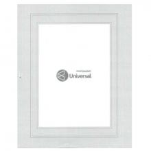 FOLHA UNIVERSAL CINZA 15X21/ 20x25 COM PASPATOUR CX C/100