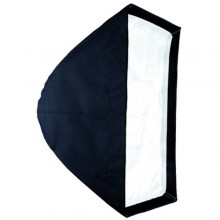 SOFT BOX EASY 40 X 60CM COM ADAPTADOR PARA FLASH ATEK