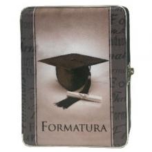 ESTOJO DE FORMATURA 15X21 PARA 80 FOTOS (MARROM)